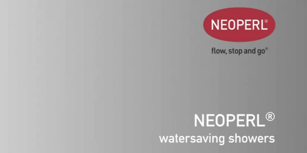 How to Save Water  Energy in the Shower with Neoperl